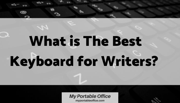 What is the best keyboard for writers article image cover.