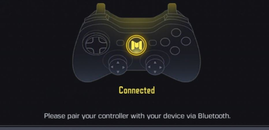 Can you play call of duty mobile with a controller connected