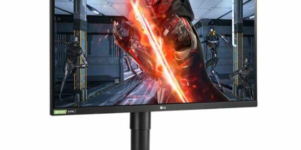 A picture of the LG27GL83A 1440P 144 Hz monitor